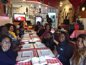 Anacostia International Inaugural Meal participants