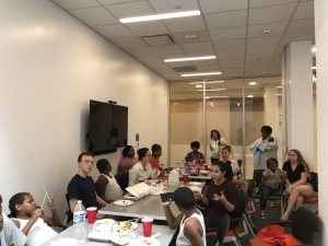 International potluck at George Washington University