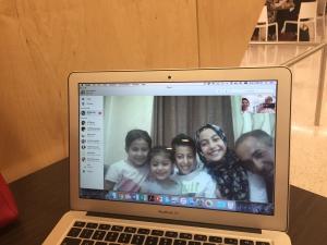 Mustafa family in Jerash, Jordan