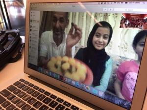 Dialogue between American and Jordanian families