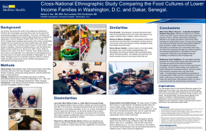 DC-Dakar Food Culture Poster Presentation
