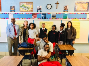 Global Storytelling Challenge students and teachers