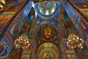 St Petersburg, Russia's Church of the Savior On Spilled Blood