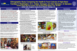 The research poster