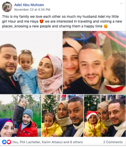 A mother from the Gaza Strip, Palestine introduces her family